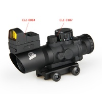 meopta rifle scopes - 4X Scope + 1X17X23 Red Dot Sight