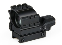 pistol red dot scopes - 1x33mm Red and Green Dot Reflex Sight