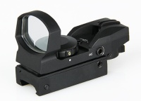 red dot scope with magnification - 1x33mm four reticle