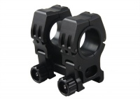 raised scope mount - M10 QD-S mount fits 20mm rail