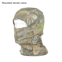 military combat boots for men - Leaves scarf mask