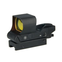 red dot rifle scope - 4 reticles red dot sight
