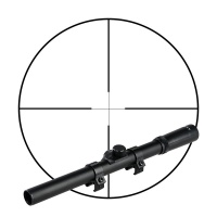 4x15 rifle scope
