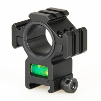 25.4mm or 30mm Rifle Scopes mount Bubble level