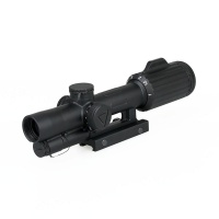 1-6x24 Rifle Scope, Horseshoe/Crosshair Riflescope