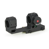 25.4mm or 30mm Dual Ring Rifle Scope Mount Quick Detach Angle Indicator