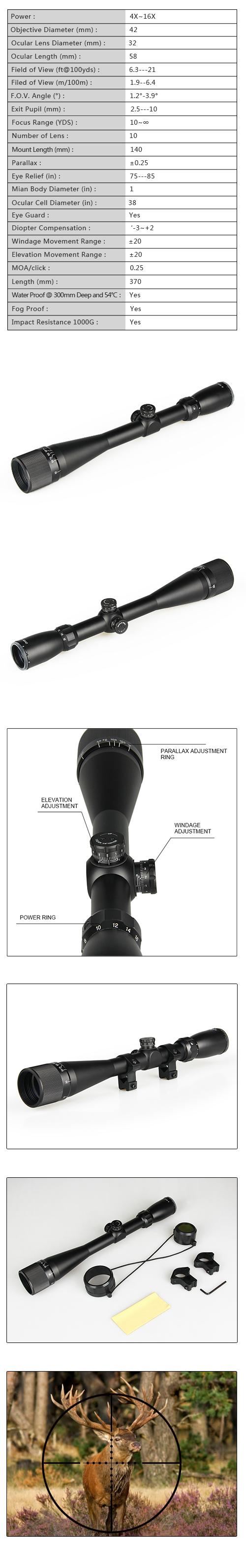 fiber optic rifle scope - scope bubble level-HAIKE OUTDOOR