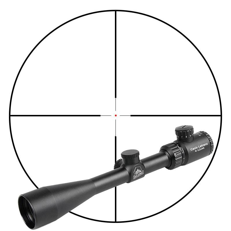 rifle scope repair - 4-12x44 Red Dot Rifle Scope-HAIKE